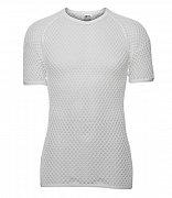 Bavlněné funkční retro triko BRYNJE HELSETROYE HEAVYWEIGHT white