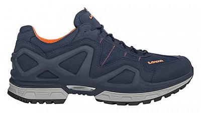 boty LOWA GORGON GTX navy/orange UK 9,5