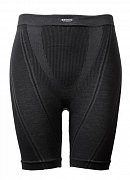 Boxerky BRYNJE SPRINT MERINO SEAMLESS BOX black