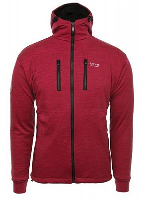 Bunda BRYNJE ANTARCTIC W/HOOD red  XL