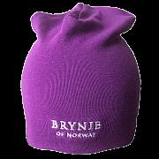 Čepice BRYNJE CLASSIC WOOL HAT violet