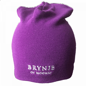 Čepice BRYNJE CLASSIC WOOL HAT violet - 1