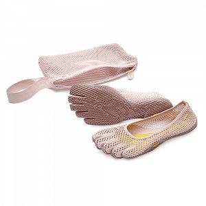 Dámské prstové boty VIBRAM FIVEFINGERS VI-B pale mauve - 2