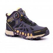 Dámské trekové boty TREKSTA ADT203 SURROUND GTX W navy/yellow