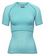 Dámské triko BRYNJE CLASSIC WOOL THERMO LIGHT T-SHIRT aqua