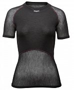 Dámské triko BRYNJE CLASSIC WOOL THERMO LIGHT T-SHIRT black L