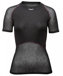 Dámské triko BRYNJE CLASSIC WOOL THERMO LIGHT T-SHIRT black - 1
