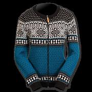 Dámský norský svetr NORWEAR MARTHA modrý