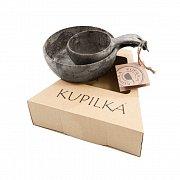Dárkový set KUPILKA KUKSA + miska černá