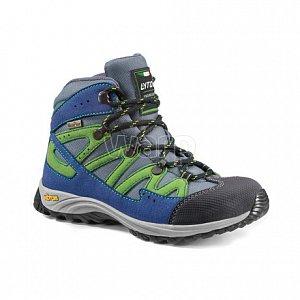 Dětské boty LYTOS ADDA KID WP royal lime - 1