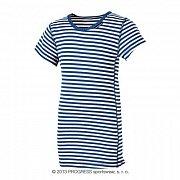 Dětské triko PROGRESS MICRO LIGHT proužek 164