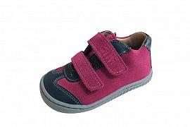 Dívčí barefoot boty FILII LEGUAN ocean/pink EU 32