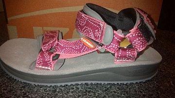 Dívčí trekové sandály LIZARD SUPER HIKE JUNIOR maori rose - 1