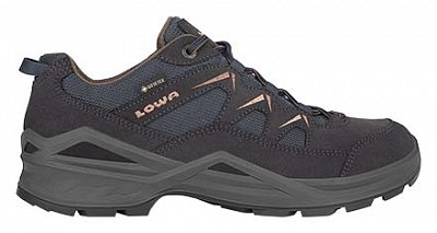 LOWA SIRKOS EVO GTX LO navy/brown UK 12
