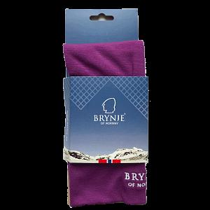 Nákrčník BRYNJE CLASSIC WOOL NECK violet - 1