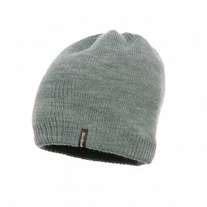 nepromokavá zimní čepice DEXSHELL BEANIE SOLO grey - 1