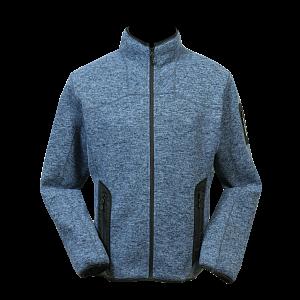 Pánská fleecová bunda NORWEAR LUCAS modrá - 1