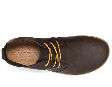 Pánské vycházkové boty VIVOBAREFOOT GOBI II M LEATHER brown/hide  EU 41 - 4