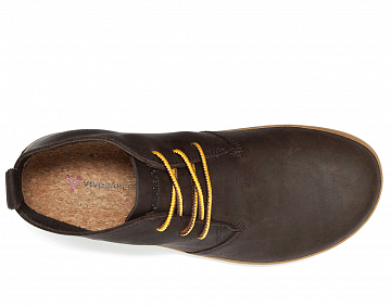Pánské vycházkové boty VIVOBAREFOOT GOBI II M LEATHER brown/hide  EU 42 - 4
