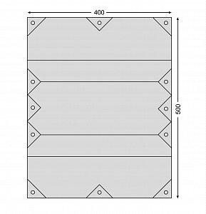 Plátěná plachta NORDISK KARI 20 - 6