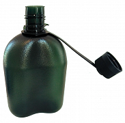 Plochá polní láhev PINGUIN TRITAN FLASK 1L zelená