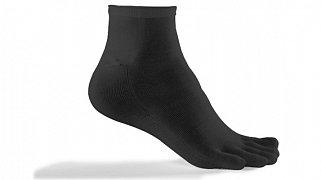 Prstové ponožky LIZARD SPORT MID černé S