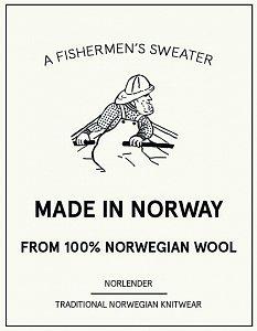Tradiční norský svetr NORLENDER SVALBARD navy - 4