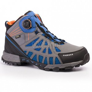 Trekové boty TREKSTA ADT203 SURROUND GTX blue /orange - 1