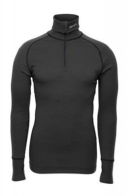 Triko BRYNJE ARCTIC DOUBLE ZIP POLO grey  L