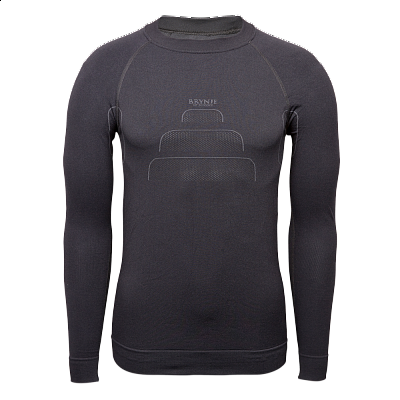 Triko BRYNJE BRYNJE SPRINT SEAMLESS SUPER SHIRT black S