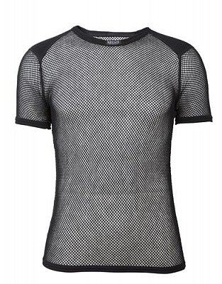 Triko BRYNJE WOOL THERMO T-SHIRT W/INLAY black S