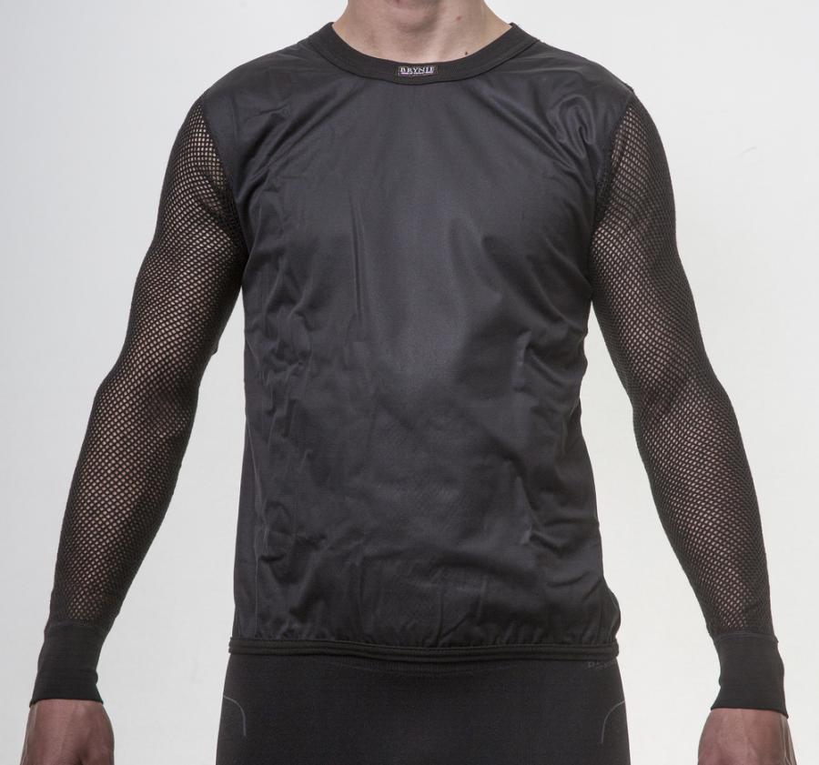 Triko s dlouhým rukávem BRYNJE SUPER THERMO SHIRT WINDFRONT black -  Rejoice-kt.cz 8d7f480103