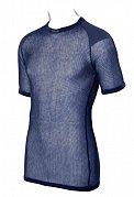 Triko s krátkým rukávem BRYNJE SUPER THERMO T-SHIRT W/INLAY navy