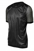Triko s krátkým rukávem BRYNJE SUPER THERMO T-SHIRT WINDFRONT black